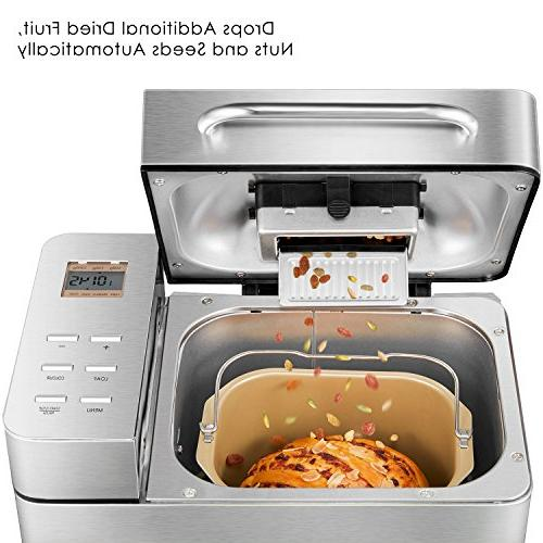 Automatic Maker, 2.2LB Fully Bread Machine with