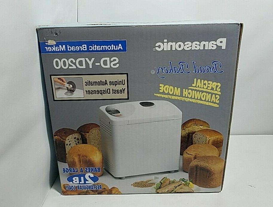 sd yd200 automatic bread maker in original