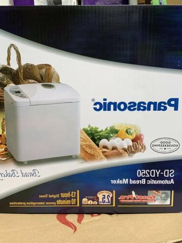 sdyd250 automatic bread maker with yeastpro yeast