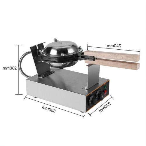 Stainless Electric Bubble Cake Maker Oven Stick Baker Machine USA