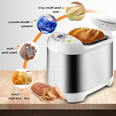 Stainless 2LB Electric Maker Machine Programmable Home
