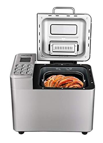 stainless steel automatic bread maker