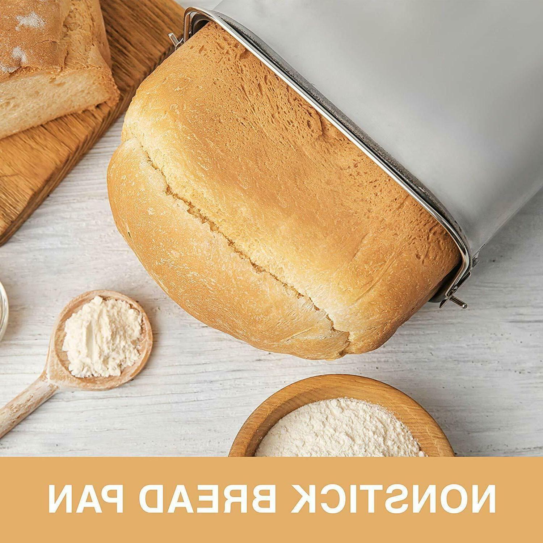 Pohl+Schmitt Stainless Bread Machine, 2LB