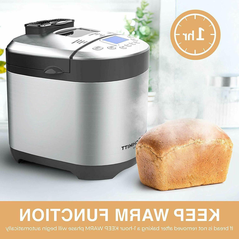 Pohl+Schmitt Machine, Programmable Bread
