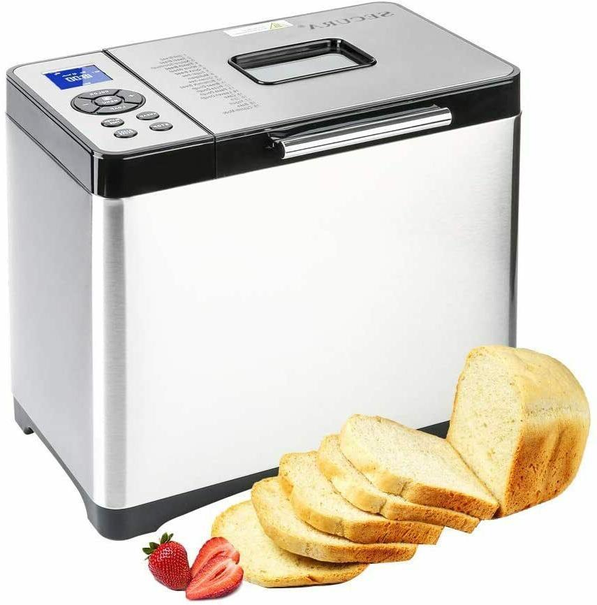 bread maker machine stainless steel multi use