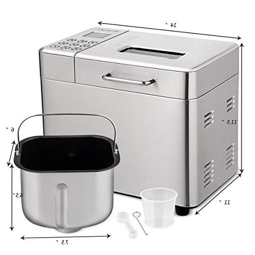 Stainless Steel Maker 15 Hours 1 Hour Keep Warm