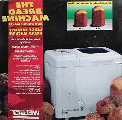 welbilt abm 3600 bread machine