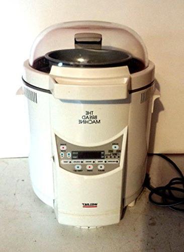 welbilt bread machine maker abm