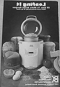 LOAFING IT - 58 RECIPES FOR DAK & WELBILT TURBO  Bread Machi
