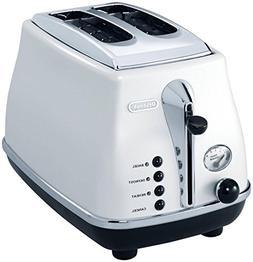 De'Longhi CTO2003WCTO2003W 2-Slice Toaster