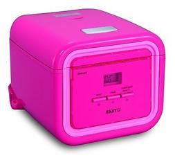 Tiger 3-Cup  Micom Rice Cooker with Slow Cooker & Bread Make