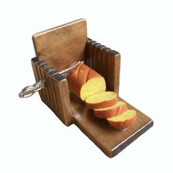 Miniature Kitchen Toast Bread Slicer Slice Machine 1:6 Dollh