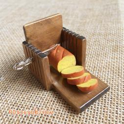 Miniature Kitchen Toast Bread Slicer Slice Machine 1:12 Doll