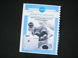 Pillsbury Model 1021 Bread Maker Machine Instruction Manual