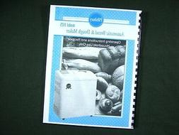 Pillsbury Model 1025 Bread Maker Machine Instruction Manual