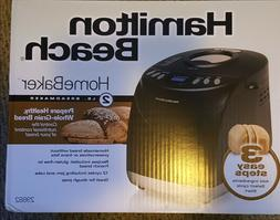 NEW!! Hamilton Beach 2lb HomeBaker Model 29882 BreadMaker