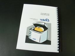 Oster Bread Machine Manual CKSTBR9050, CKSTBRTW20