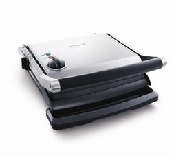 Breville Panini Grill - 1500 W - Stainless Steel - Silver, B
