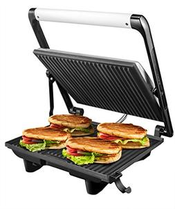 "Aicok Panini Press Grill Gourmet Sandwich Maker, 11.6"" x 10."