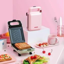 Portable Breakfast Maker Machine Sandwich Nonstick Bread Toa