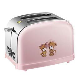 Mzwodmu 850W Portable Household Electric Automatic 2 Slice T