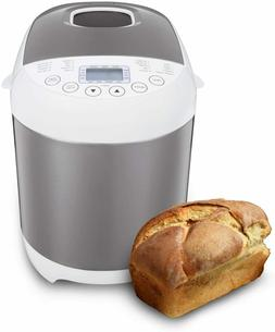 Pro Bread Machine, 2 LB 19-in-1 Programmable XL Bread Maker