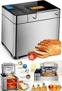 Pro Bread Maker Machine Automatic Digital Touch Stainless St