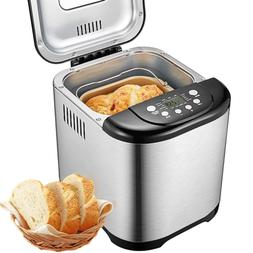 Programmable Bread Maker, Aicok 2 Pound Beginner Friendly Br