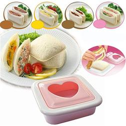 Mzwodmu Reusable PP Pocket Sandwich Mould DIY Toast Cake Bre