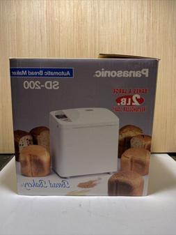 Panasonic SD-200 Automatic Bread Maker Machine 2 Lb New In B