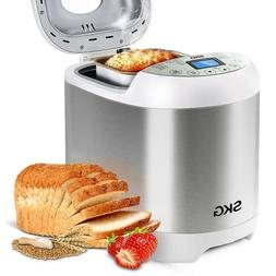 Skg Automatic Bread Machine 2LB-Beginner Friendly Programmab