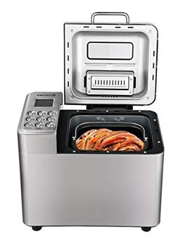2 LB Stainless Steel Automatic Bread Maker Programmable Brea