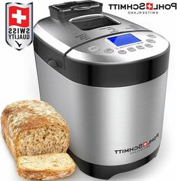 stainless steel bread machine 2lb 17 in
