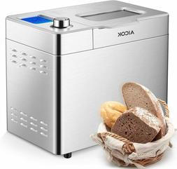 Stainless Steel Bread Machine, 2LB 25-in-1 Programmable XL B