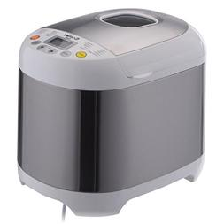 COSTWAY Automatic Bread Maker 2LB 550W Stainless Steel Progr
