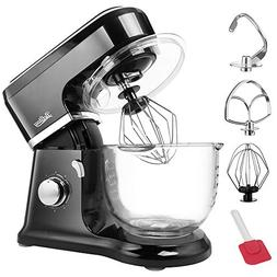 Betitay Electric Stand Mixer,Baking Mixer with Visual Glass