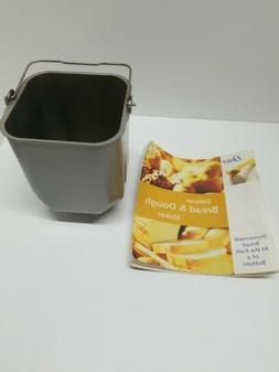 Sunbeam Oster 4812 Bread Machine REPLACEMENT PART Dough Pan