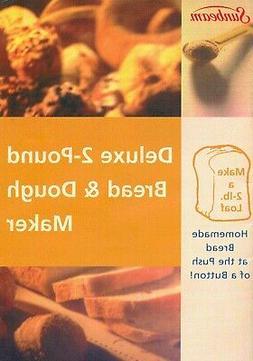 Sunbeam Bread Maker Machine Recipes MANUAL ONLY
