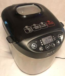 T-Fal Actibread Bread Making Machine B07-D  Stainless Automa