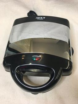 T-Fal Avante Waffle Maker Type 6025 Removable Plates Easy Cl