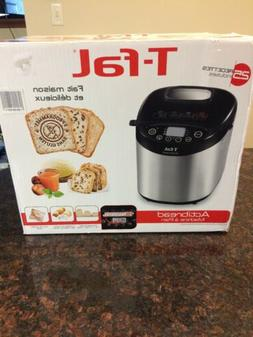 T-Fal PF311E Actibread Programmable Bread Machine Stainless