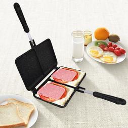 two hole sandwich maker iron font b