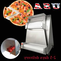 US Auto Pizza Bread Dough Roller Sheeter Machine Pizza Makin