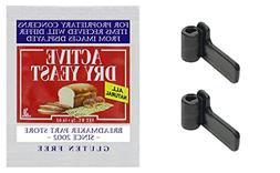 Lot of 2 WEST BEND Bread Machine Paddle 41085 41085Z Kneadin